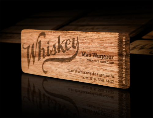 Whiskey Design's Card for your Business