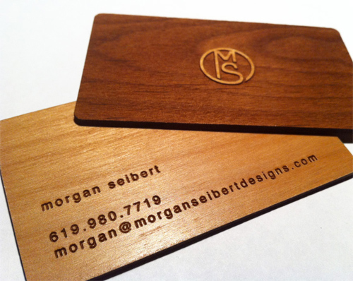 Wooden Business Card  for your Business