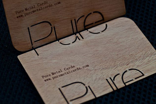 purewoodbusinesscard