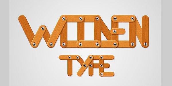 Create a Funny Wooden Type Treatment in Photoshop