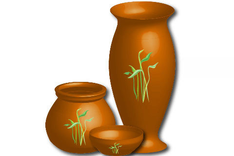 Drawing a Vase in Illustrator Tutorial