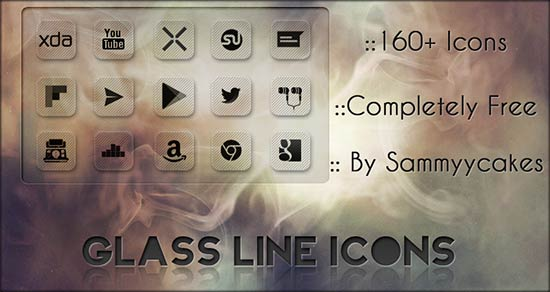 Glass-Line-Icons