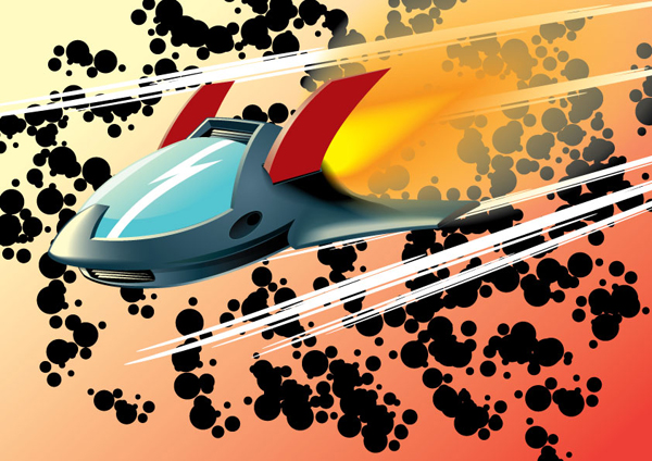 Rocketing 3D Adobe Illustrator Tutorials