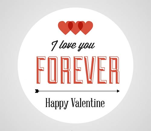 Retro-Typographic-Valentines-Day-Card