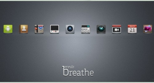 breath icons for android