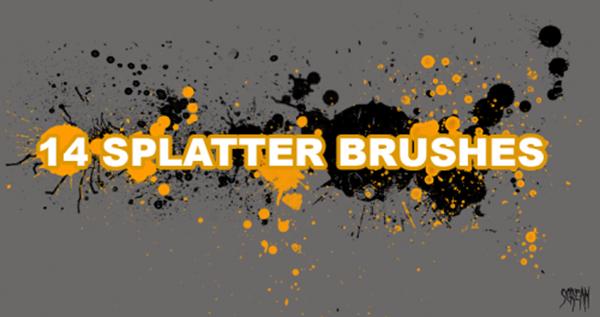 14 Ultimate Splatter Brushes