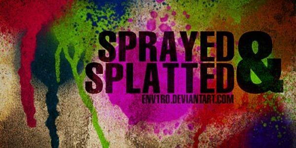 35 Got Sprayed Brushes