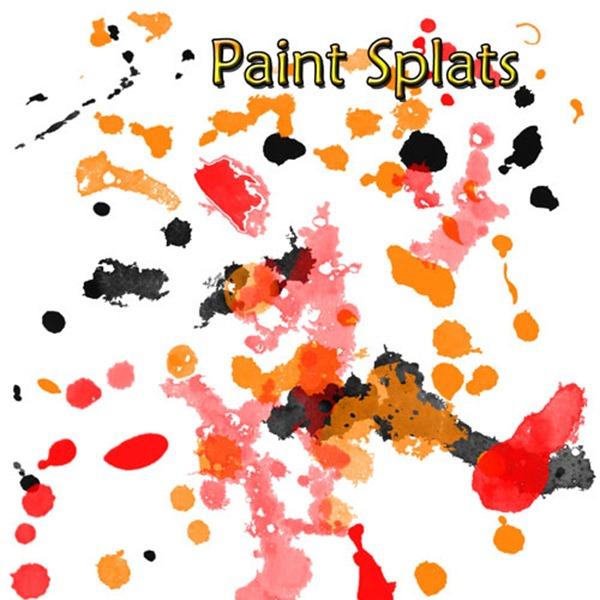 44 Paint Splatter Brushes