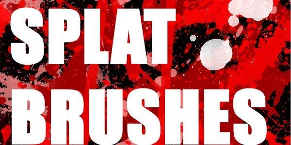 50  Blood or Splatter Brushes