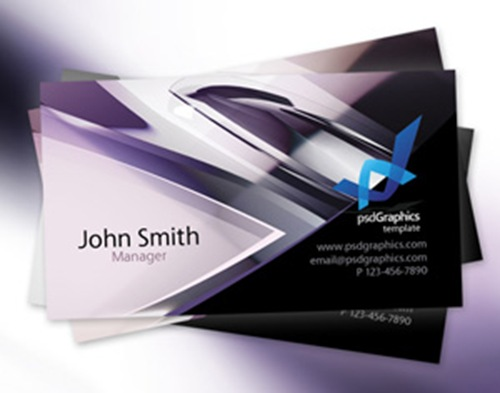 120 latest free business card psd templates psdreview part 2