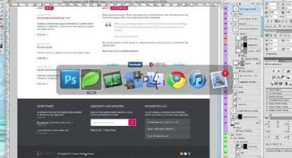 Create a Sleek, Corporate Web Design PSD to HTML/CSS Conversion Tutorials