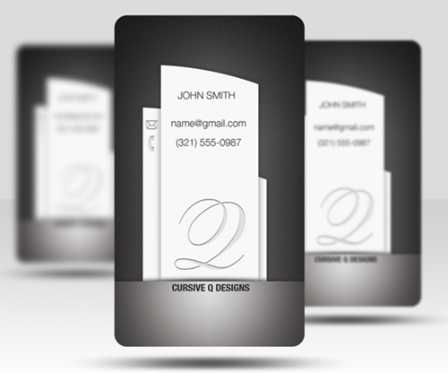 Free Business Card PSD v5