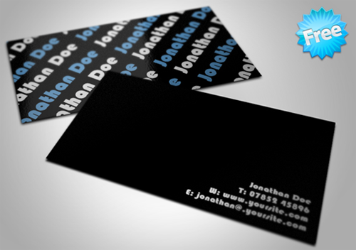 Free Minimal Business Card