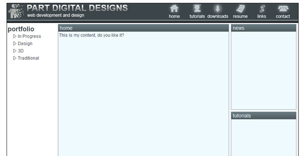 PSD to HTML PSD to HTML and CSS Conversion Tutorials