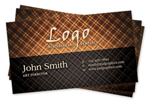 Hot Vintage Business Card