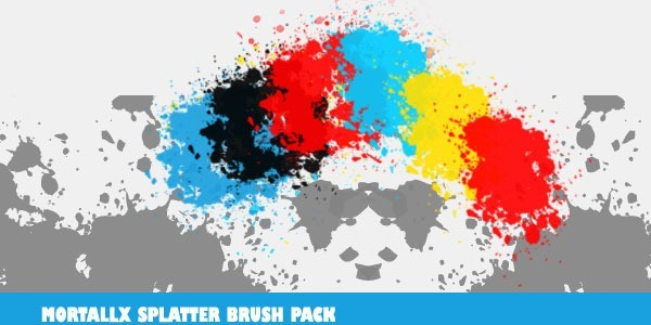 Mortallx Splatter Brushes