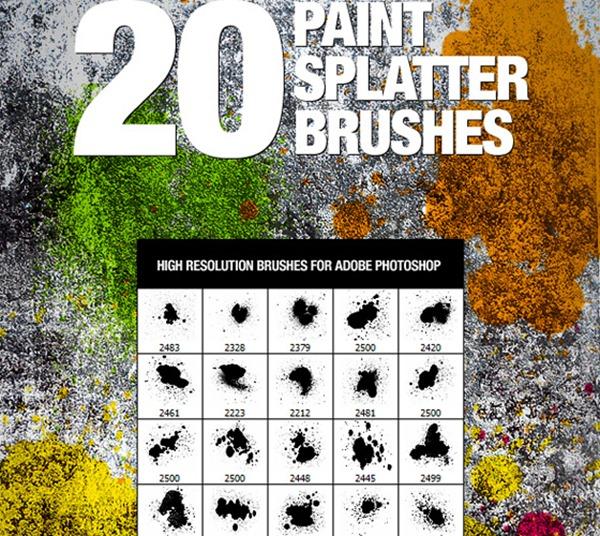 Paint Splatter Brush