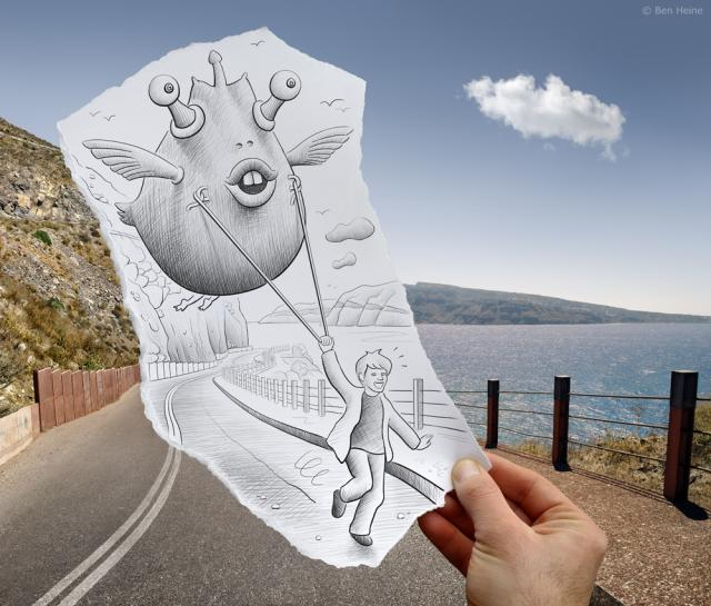 Pencil Vs Camera - 48 by Ben Heine