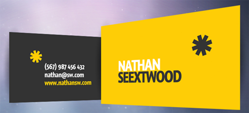 Seextwood Business Card