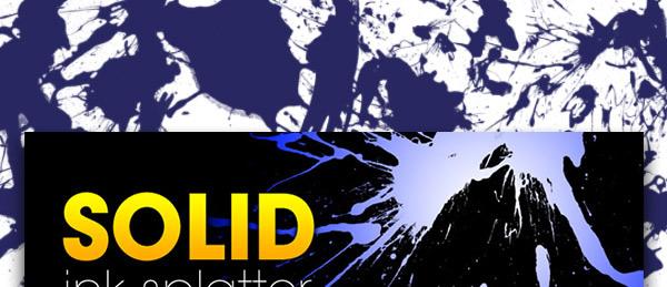 Solid-Ink-Splatter
