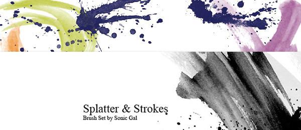 Splatter-&-Strokes
