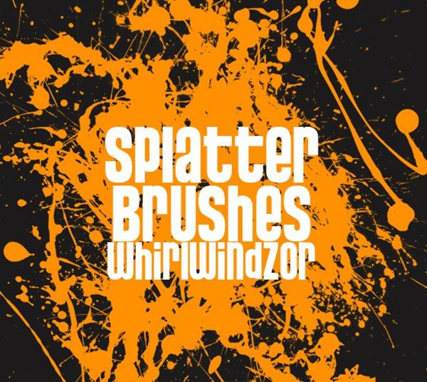 Super Crazy Splatter Brush
