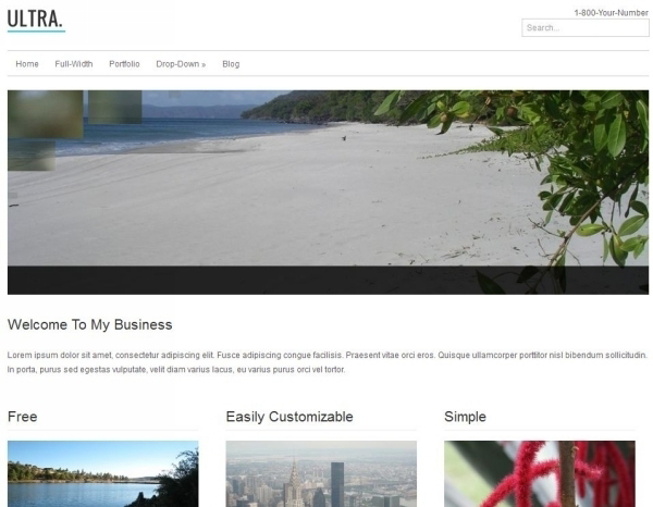 Awesome Free WordPress Themes for Business Websites