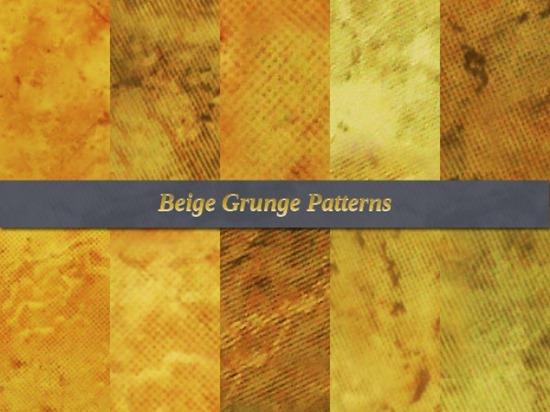 Beige Grunge Free Patterns