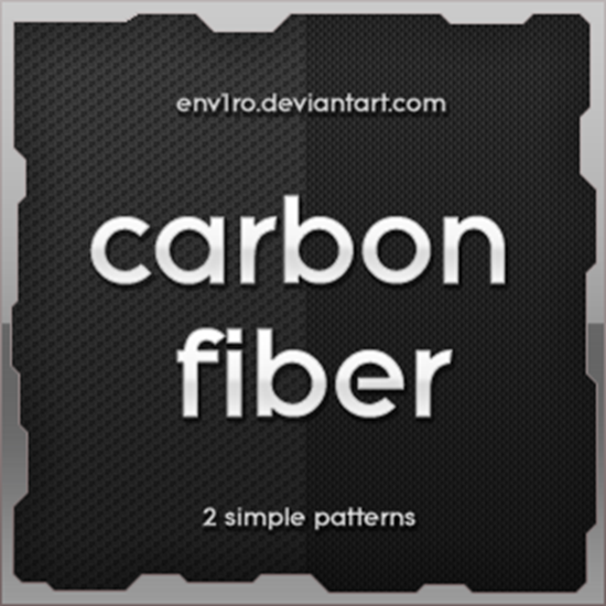 Carbon Fiber 2 simple patterns