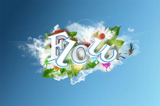 Create A Beautiful 3D Text Composition