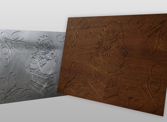 Create a Bas Relief Effect With Photoshop's 3D Tool
