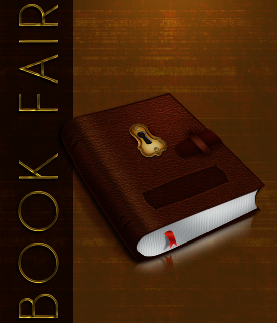Create a Leatherback Book Icon in Photoshop