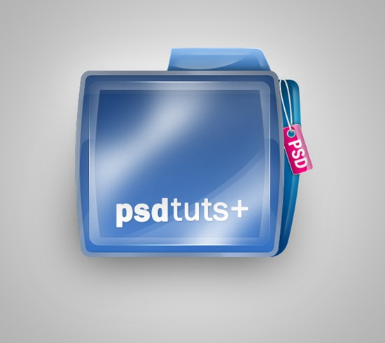 Create a Shiny Psdtuts  Folder Icon in Photoshop