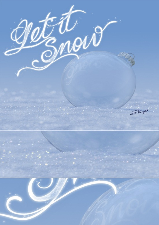Create a Winter-Themed Holiday Card in Photoshop