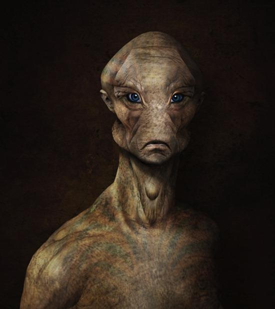 Create an Alien Portrait Using Photo Manipulation Techniques