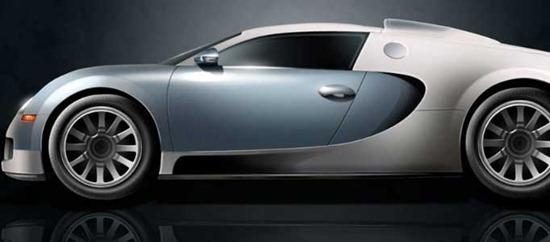 Design a 3D Smart Car using Photoshop