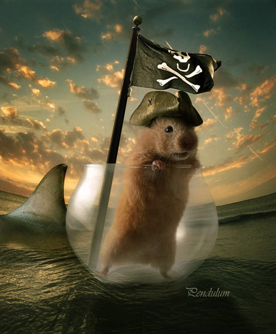 How To Create Glass Transparency In A Cute Photo Manipulation
