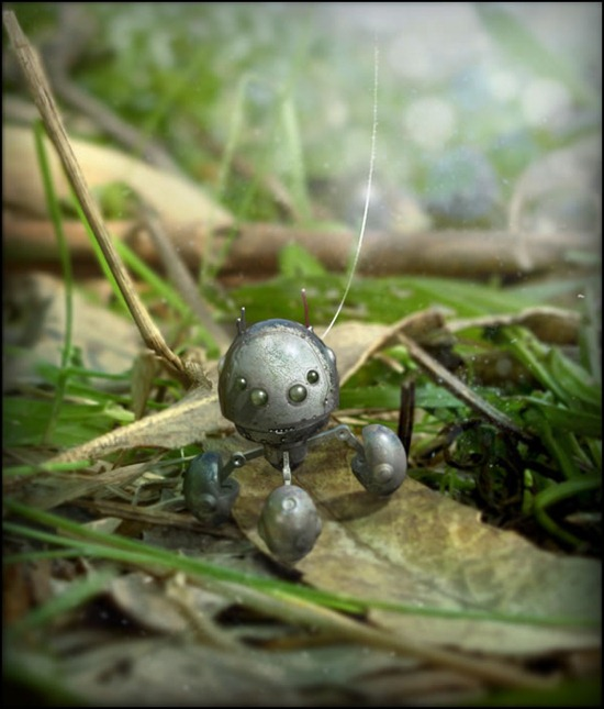 Integrate a 3D Render Into a Macro Photograph Using Photoshop