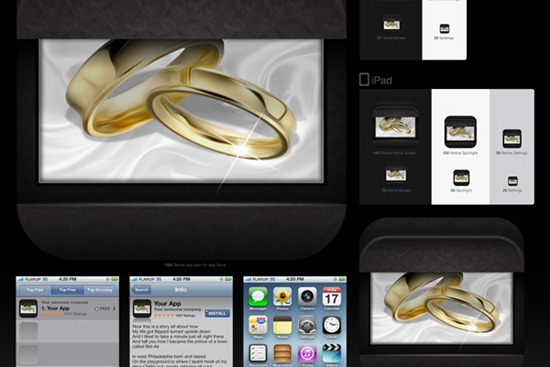 Learn To Create A Jewelry Style IOS Icon