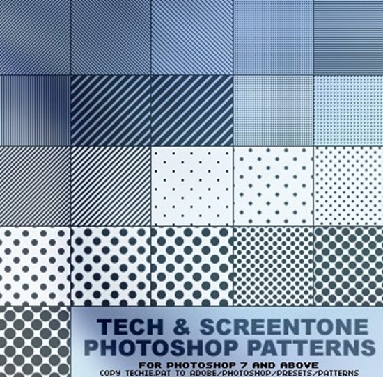 Scanline   screentone patterns