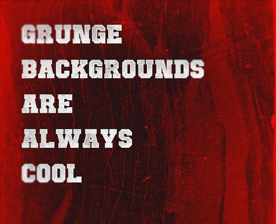 How to turn wooden textures in awesome grunge backgrounds