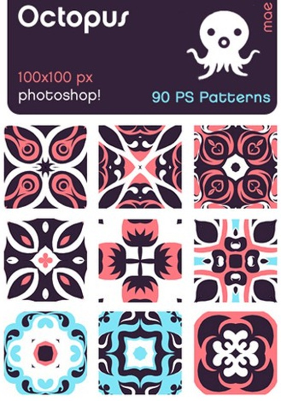 octopus photoshop patterns