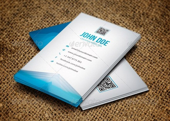 Abstact Creative Business Card - 28