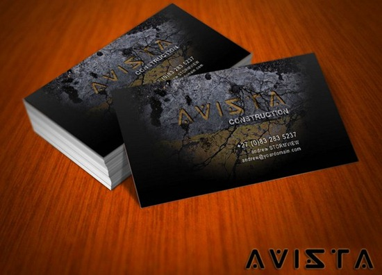 Avista Business Card