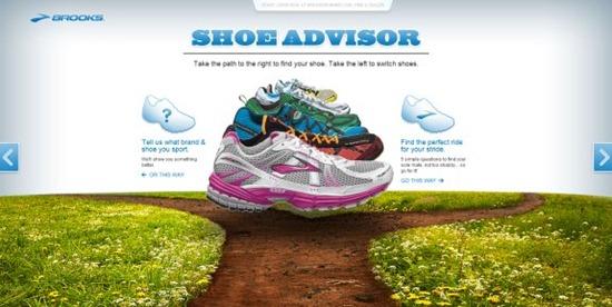 Brooks Shoe Advisor