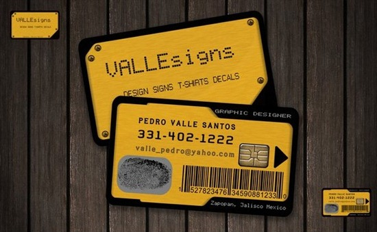 Business Card proyecto 1
