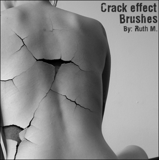 Crack Effect Brushes
