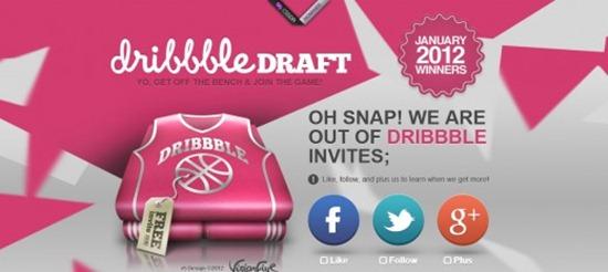 Dribbble Draft