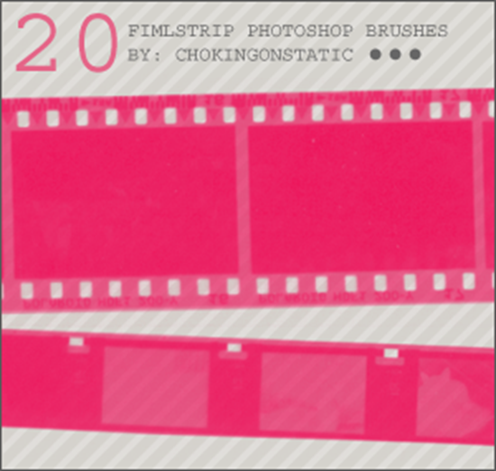 Filmstrip brushes
