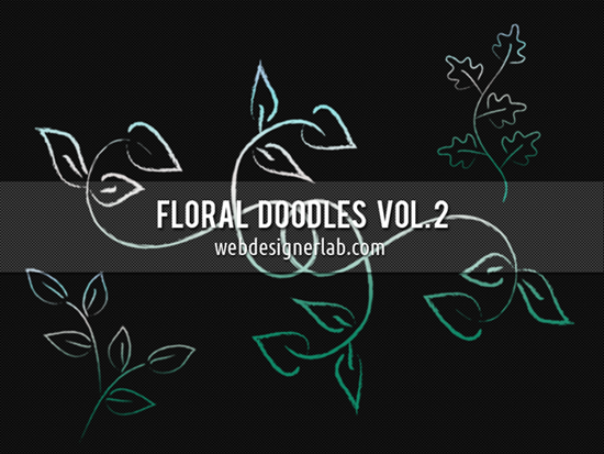Floral Doodles Brushes (Vol. 2)